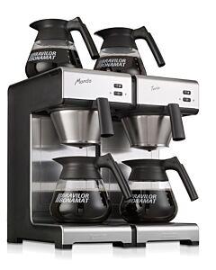 Koffiezetapparaat Bravilor, Mondo Twin, 230V, 3460W, 404x406x(H)446mm