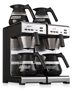 Koffiezetapparaat Bravilor, Matic Twin, 400V, 4280W, 404x406x(H)446mm