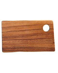 Rechthoekige plank met gat 25 x 14 x 2 cm
