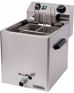 Pastakoker elektrisch Casselin, 27x30(h)x42(d)cm, 230V/3x400W, met aftapkraan