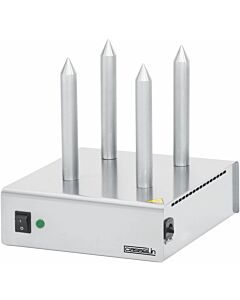 Broodverwarmer Casselin, 4 staven, RVS, 26x30x29(h)cm, 230V/110W