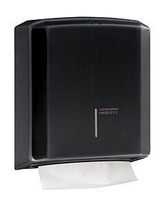 Mediclinics Handdoekdispenser zwart, DT2106B