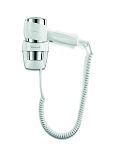Haardroger Valera,  Action Super Plus 1600 wit, wandmontage, spiraalsnoer, wit, 1600 W