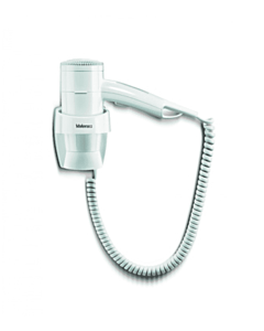Haardroger Valera,  Premium 1200, wandmontage, spiraalsnoer, wit, 1200 W