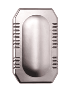 Luchtverfrisser dispenser MediQo-line, deurmontage, RVS look, Air-O-Kit