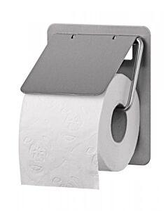 Toiletpapierdispenser SanTRAL, Toiletrolhouder 1rols RVS, RVS anti-fingerprint coating