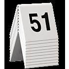 Tafelnummers Securit, per 10 stuks, van 1t/m60