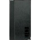 Securit Menukaart Trendy, A45, zwart