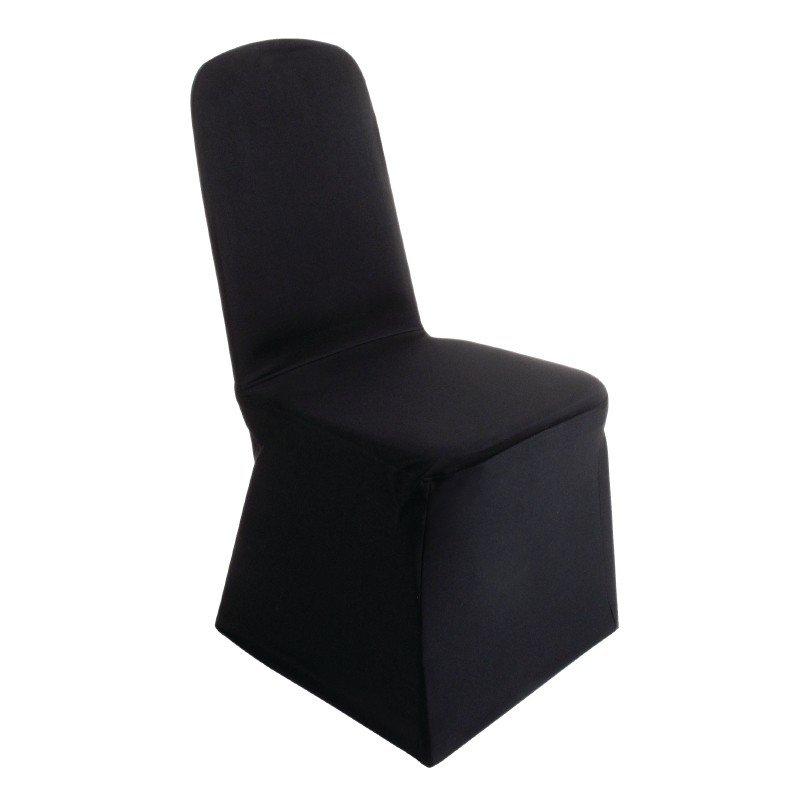 Stoelhoes Stackchair, Zwart
